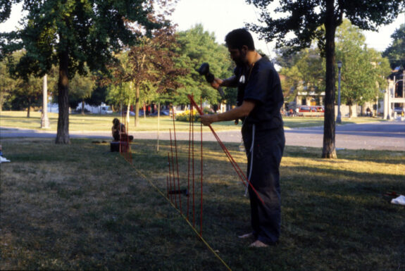 Dennis Summers performing A Walk with John Bell at Sediment | Trinity Bellwoods
