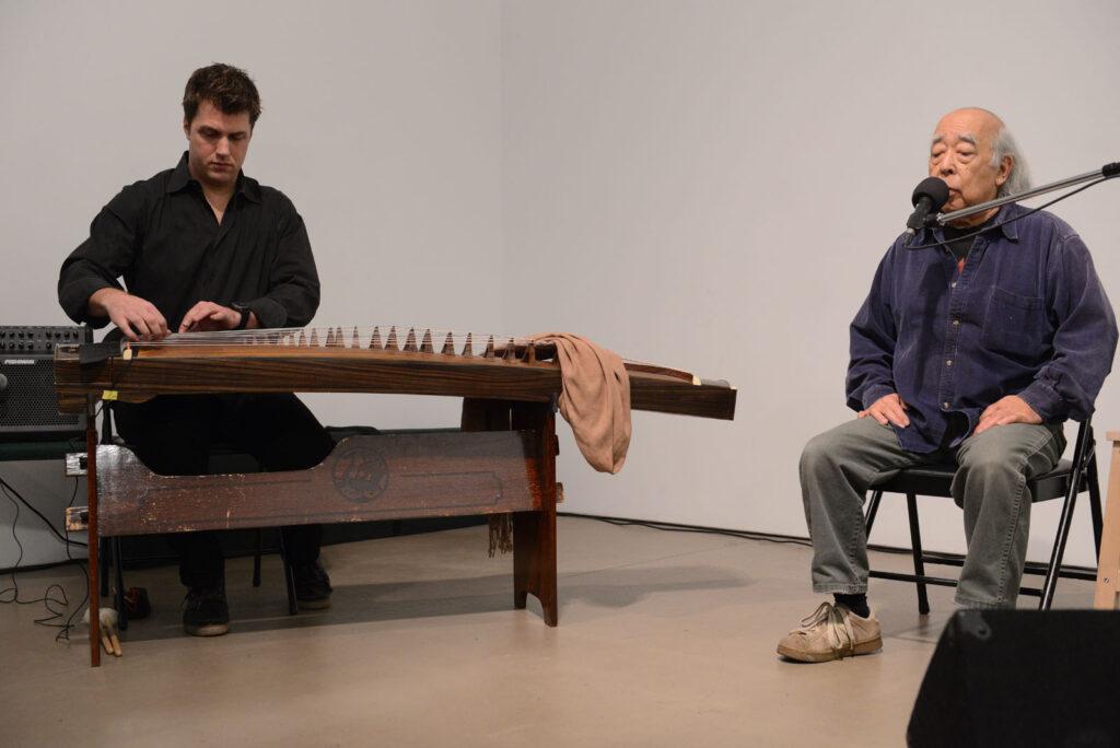 Nobuo Kubota with David Sait, untitled PHOTO Henry Chan