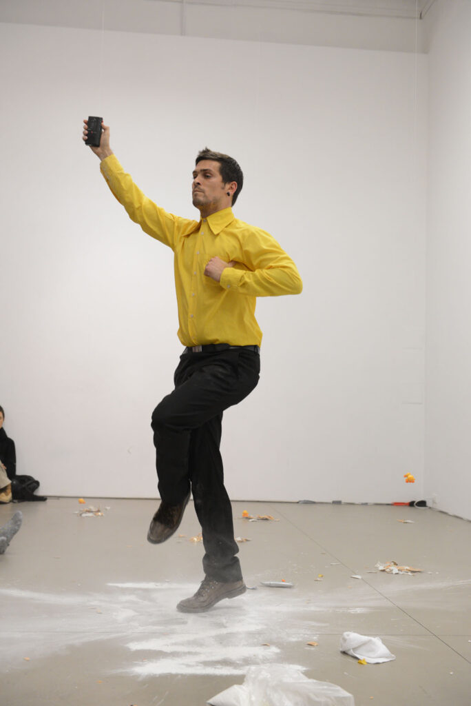 Márcio Carvalho, Now — an impossible presence  PHOTO Henry Chan