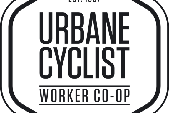 Logo: Urbane Cyclist Worker Co-op est.1997