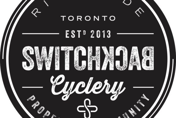 Logo: Switchback Cyclery Riverside Toronto Propelling Community