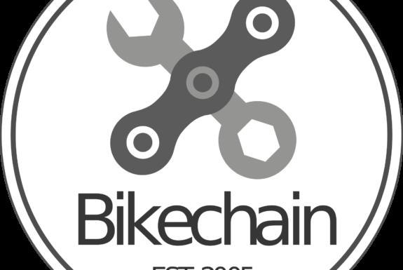 Logo: Bikechain est. 2005