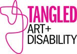 Logo: Tangled Art & Disability