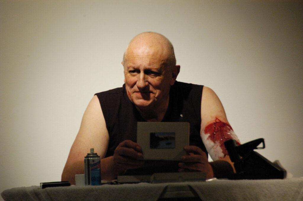 Norbert Klassen, The Art of Marking Art 7a*11d 2008 PHOTO Henry Chan