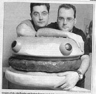 John Beagles & Graham Ramsay performing Burgerheaven at YYZ