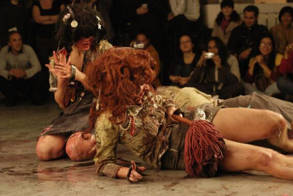 Les Fermières Obsédées performing Untitled at XPACE
