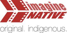 Logo: ImagineNative: Original. Indigenous.