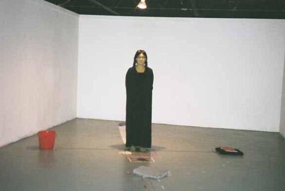 Cheli Nighttraveller performing HalfbreedLand, Admission: Dirt Cheap! at Art System