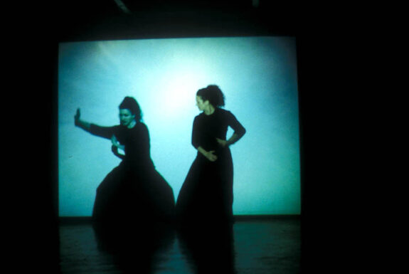 Anita Ponton performing Company at Art System