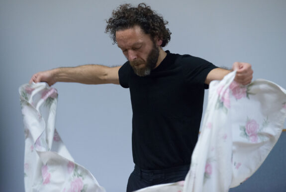 Francesco Gagliardi performing Some Reconstructions at Geary Lane