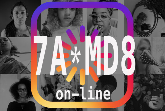 7a*md8 on-line Event Poster