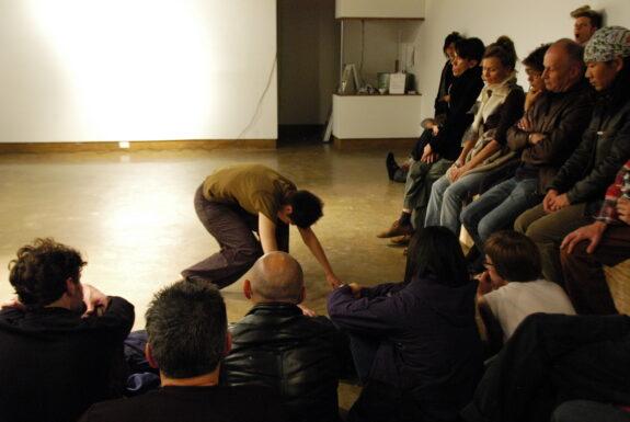 Pia Lindy performing Raaka – RAW at XPACE Cultural Centre