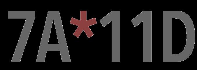 Logo: 7A*11D