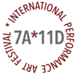 Logo: 7A*11D International Performance Art Festival