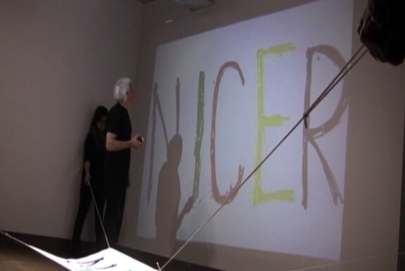 Nenad Bogdanovic performing Seventh situation for a nicer painting